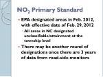 no 2 primary standard