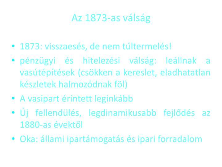 Az 1873-as vlsg