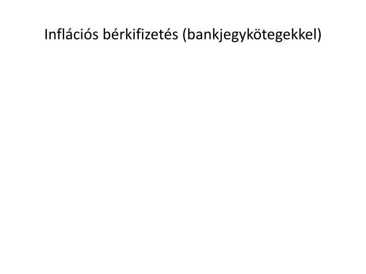 Inflcis brkifizets (bankjegyktegekkel)