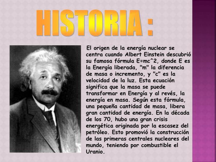 HISTORIA :