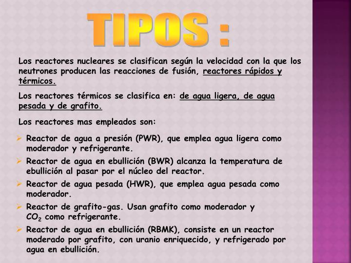 TIPOS :