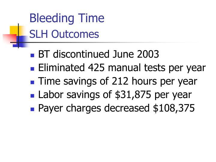 Bleeding Time