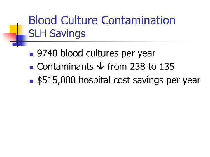 Blood Culture Contamination