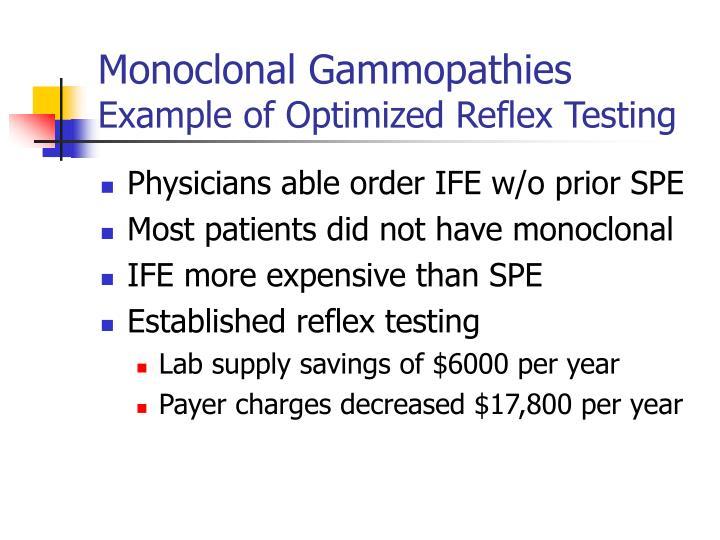 Monoclonal Gammopathies