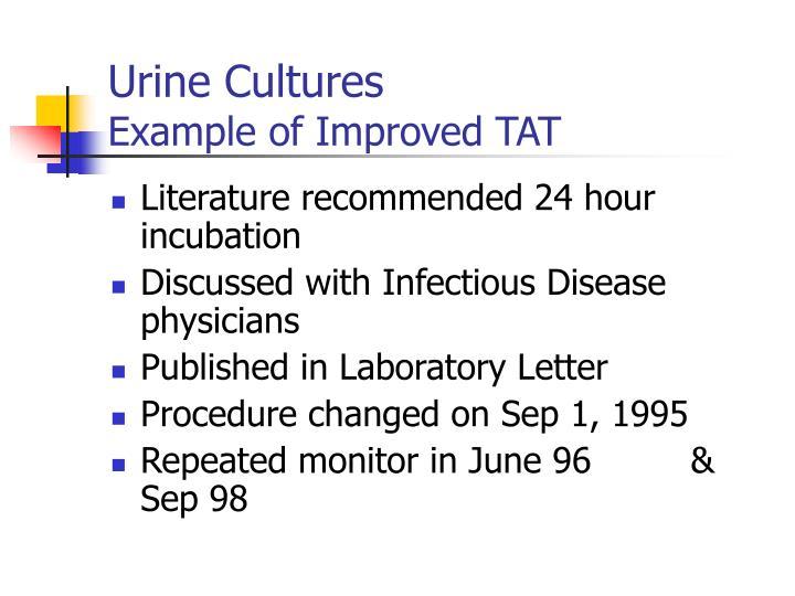 Urine Cultures