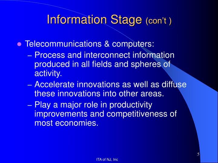 Telecommunications & computers: