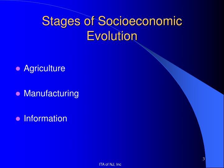 Stages of Socioeconomic Evolution