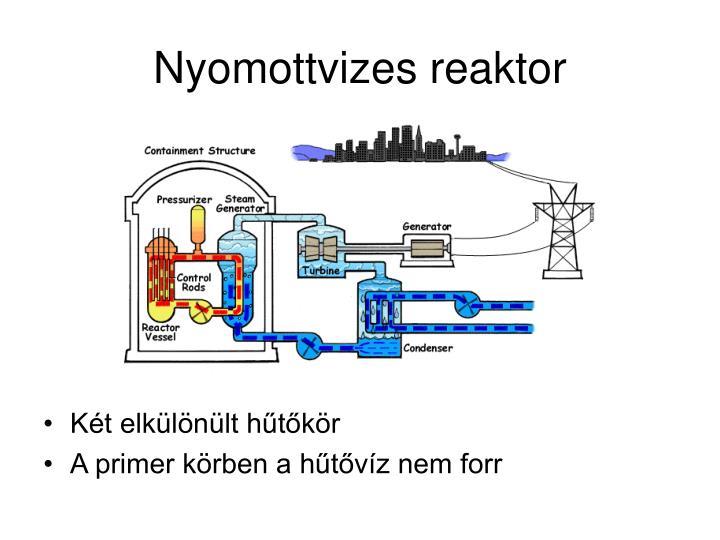 Nyomottvizes reaktor