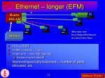 ethernet longer efm