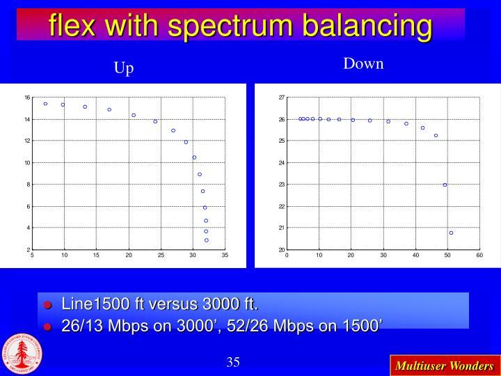 flex with spectrum balancing