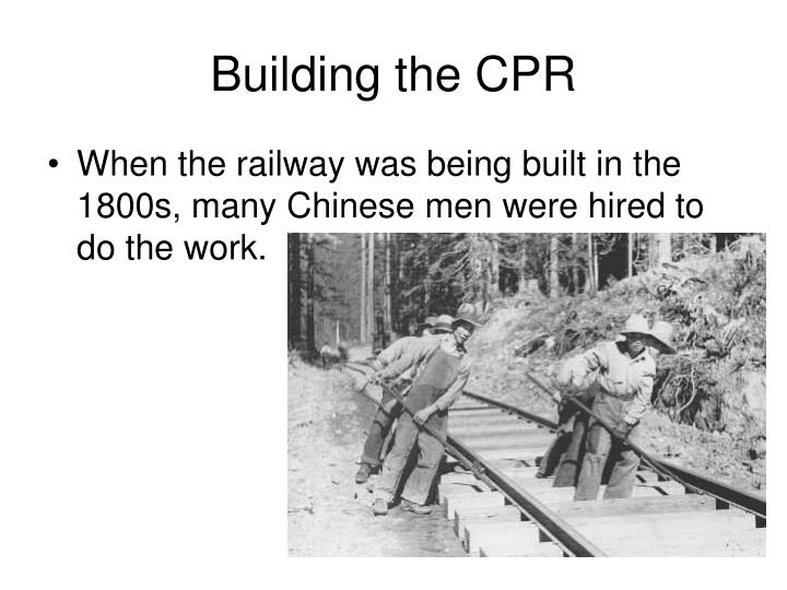 Building the cpr