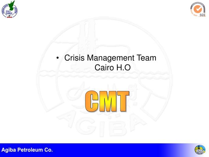 Crisis Management Team