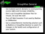 groupwise general1