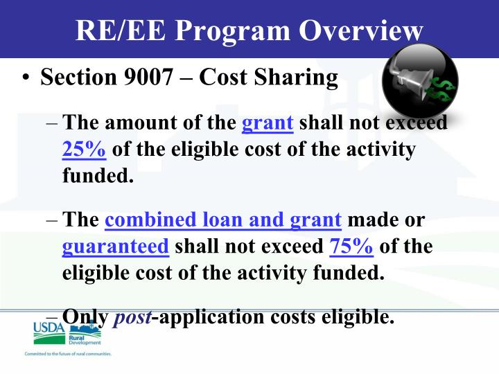 RE/EE Program Overview