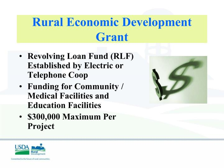 Rural Economic Development Grant