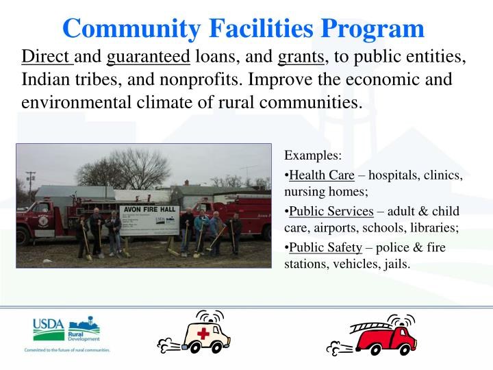 Community Facilities Program