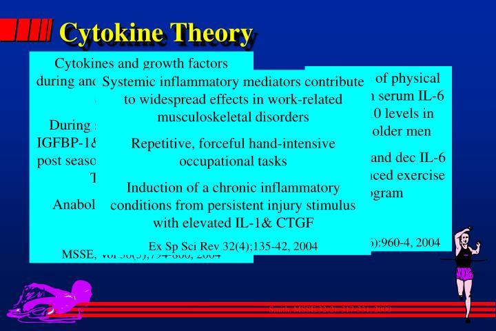 Cytokine Theory