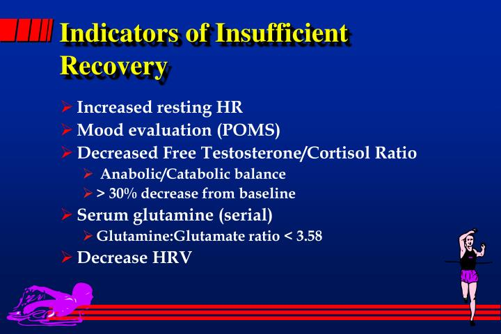 Indicators of Insufficient Recovery