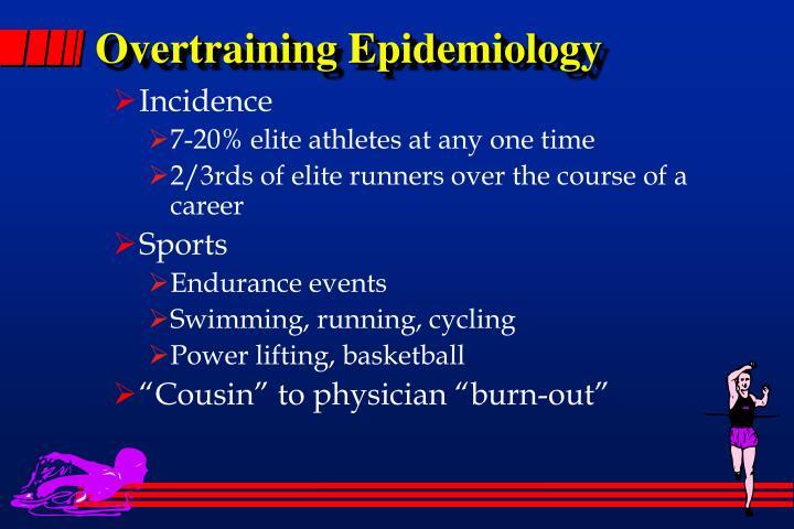 Overtraining Epidemiology