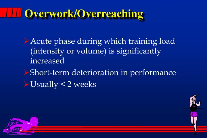 Overwork/Overreaching