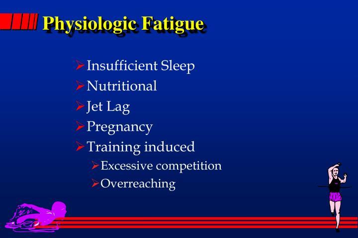 Physiologic Fatigue