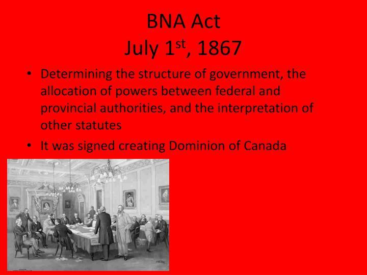 BNA Act