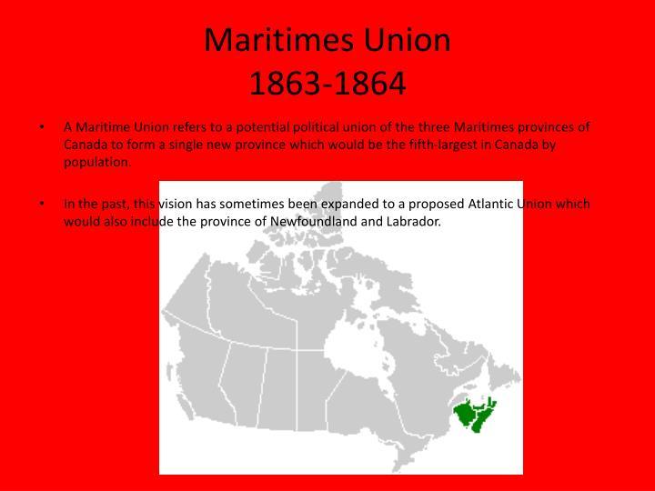 Maritimes Union