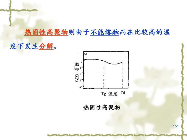 热固性高聚物