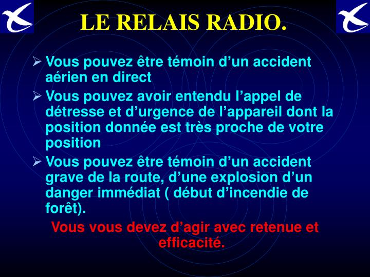 LE RELAIS RADIO.