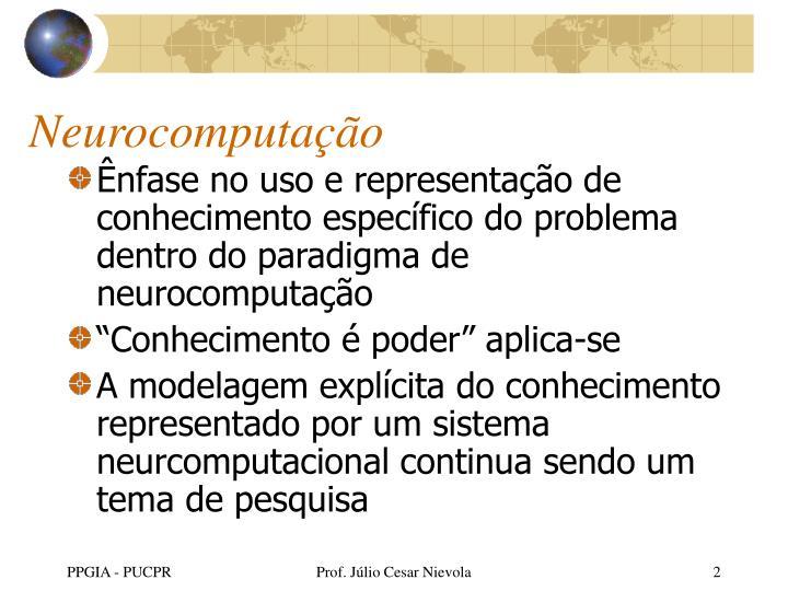 Neurocomputação