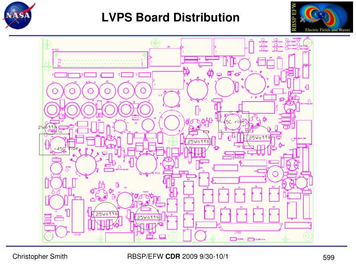LVPS Board Distribution