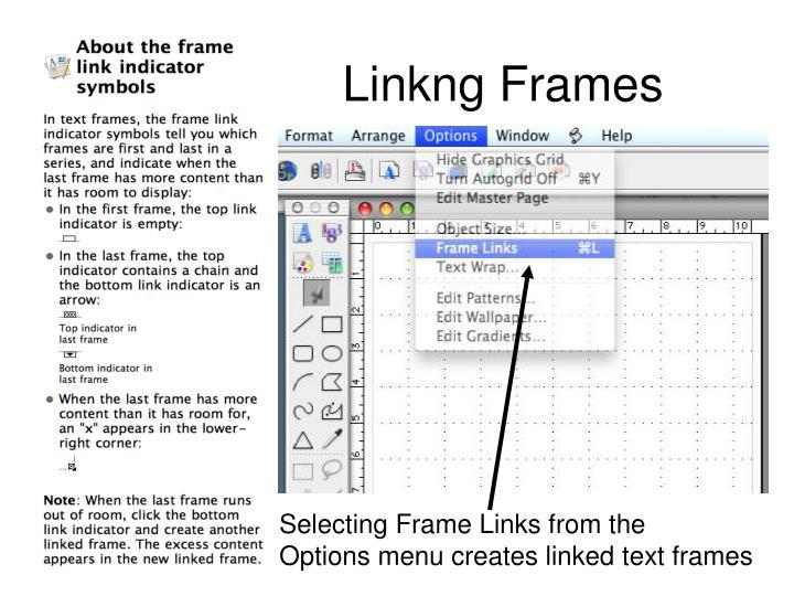 Linkng Frames