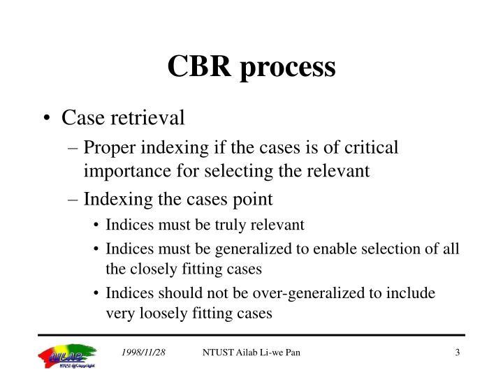 CBR process