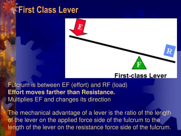 First Class Lever