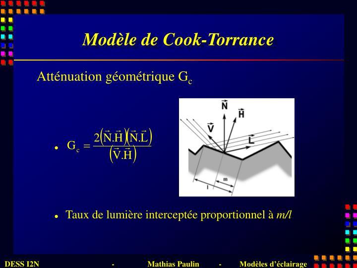 Modèle de Cook-Torrance