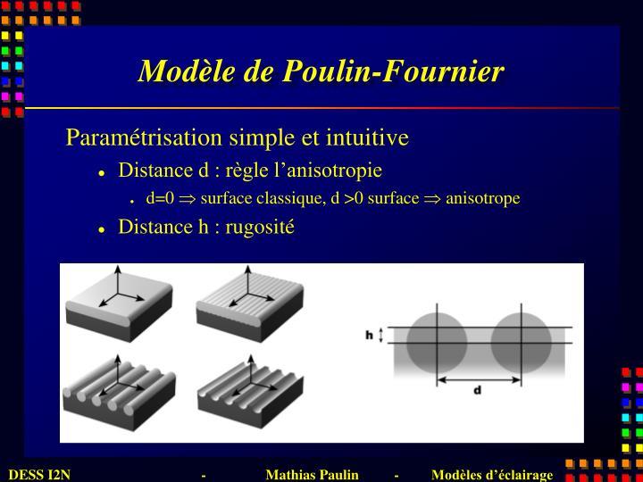 Modèle de Poulin-Fournier