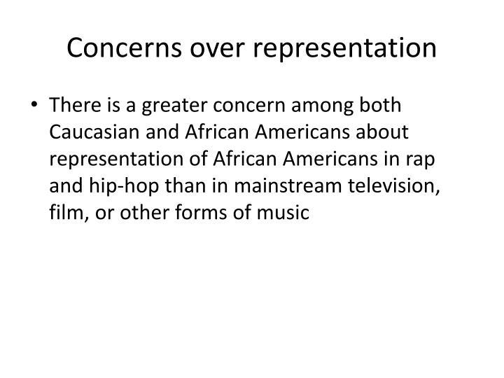 Concerns over representation