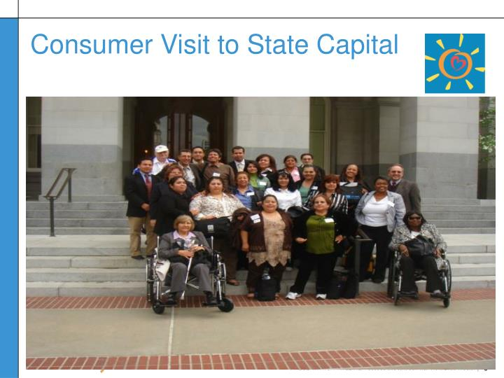 Consumer Visit to State Capital