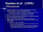 paulesu et al 1995 discussion