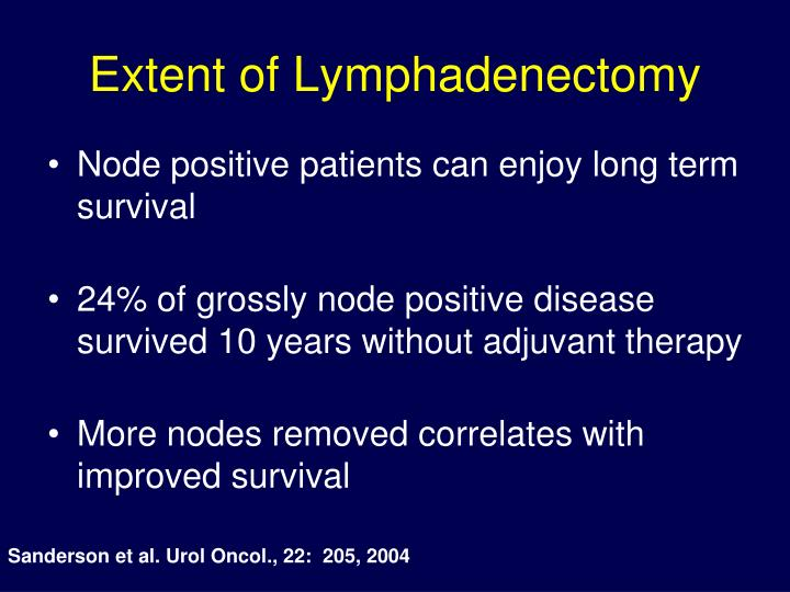 Extent of Lymphadenectomy