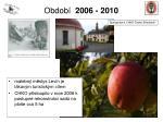 obdob 2006 20105