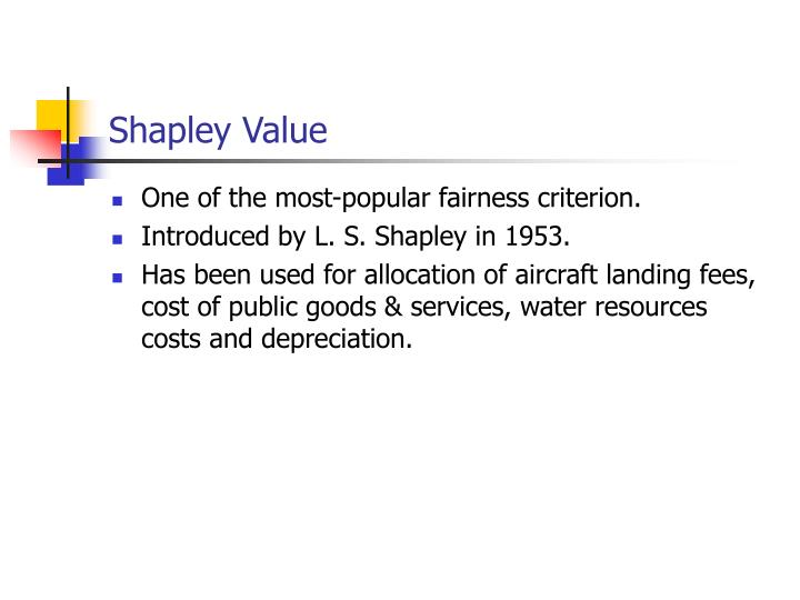 Shapley Value