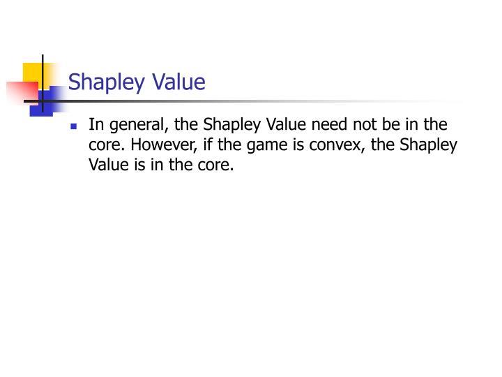 Shapley Value