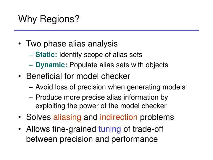 Why Regions?