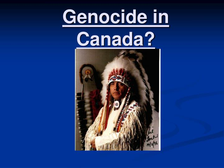 Genocide in canada