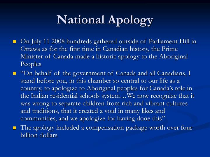 National Apology