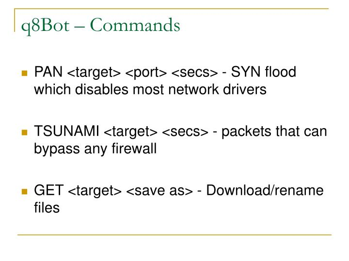 q8Bot – Commands