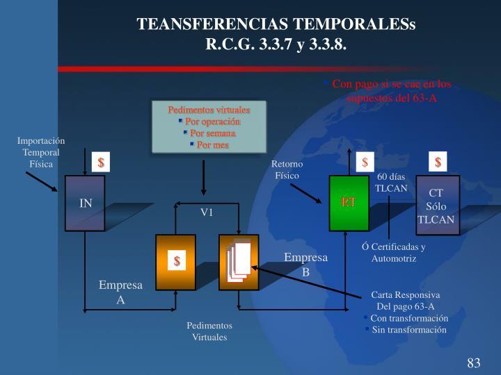 TEANSFERENCIAS