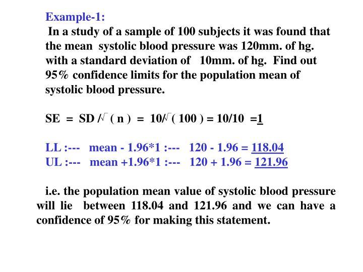 Example-1: