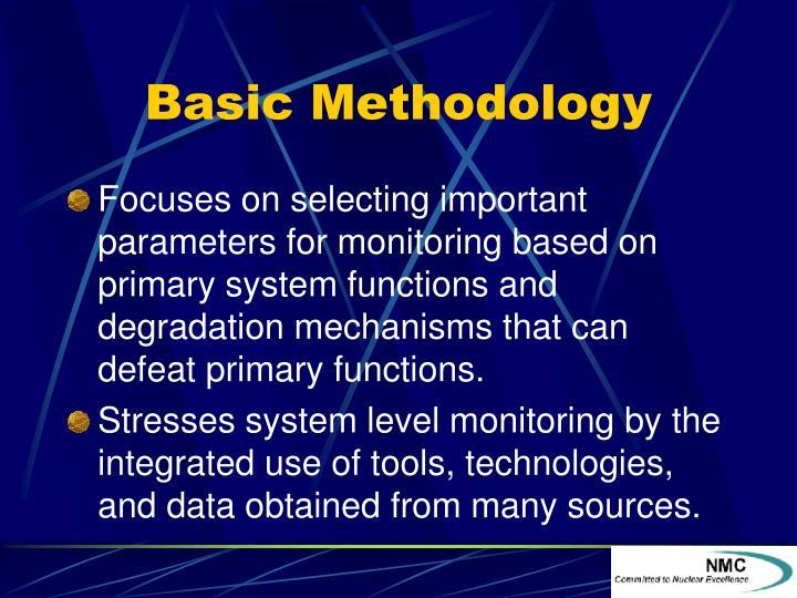 Basic Methodology